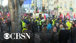 France braces for more protests over pension reform