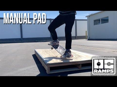 Skateboard Manual Pad by OC Ramps
