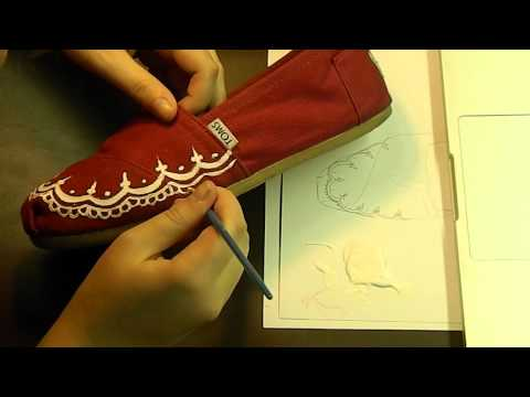 Custom Red Henna TOMS speed paint/ time lapse