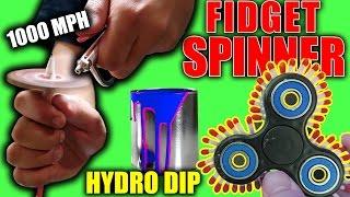 TOP 5 BEST Fidget Spinner Hacks, Mods and Tricks (Make ANY Fidget Spinner FASTER) Working Life Hacks