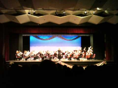 Cranston High School West Orchestra - Rock You Merry Gentlemen - J. Bishop