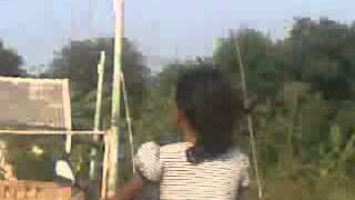 Nisa belajar motor, Zahra shot n bapak / Video dari Ponsel Saya
