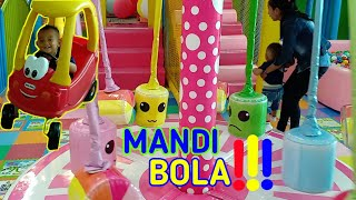 Mandi bola terbaru | odong odong | play a lot of ball pit