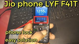 Jio F41T - Unlock Phone 100% Working Methode