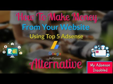 Top 5 AdSense Alternatives For Low And High Traffic Websites   Instant approval ad networks