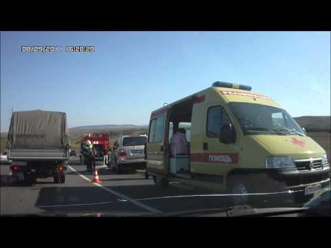 Страшная авария Ставрополь