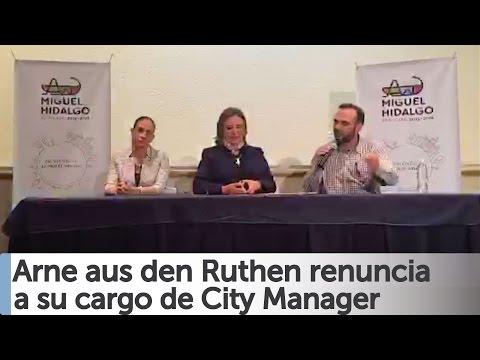 Arne aus den Ruthen renuncia oficialmente a su cargo de City Manager [COMPLETO]