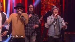 Download Lagu Backstreet Boys & Florida Georgia Line - God, Your Mama, and Me (Live Ellen Show 2017) Gratis STAFABAND