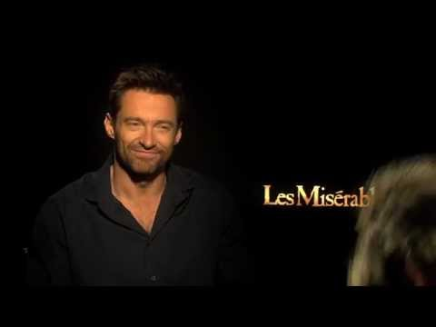 Hugh Jackman (Jean Valjean) Interview for