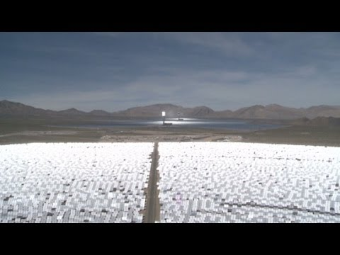 Inside the world's largest solar plant