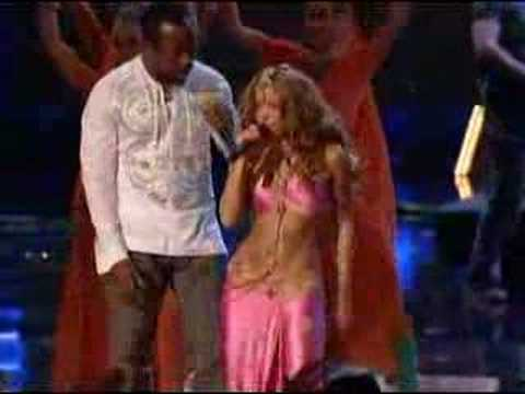 Shakira- Hips Don`t Lie- (live) video
