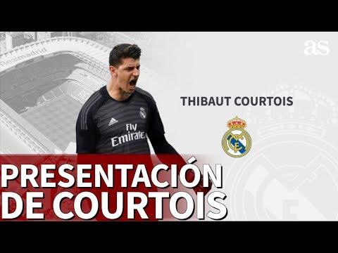 La presentación de Courtois con el Real Madrid | Diario AS thumbnail