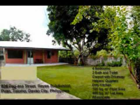 Davao House for Sale - House on a Big Lot in Puan, Talomo, Davao City