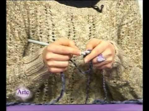 Cómo tejer una levita con dos agujas