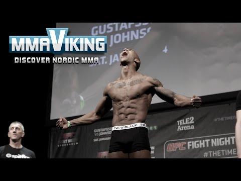 UFC Sweden 4 Weigh Ins Niko Musoke vs  Albert Tumenov