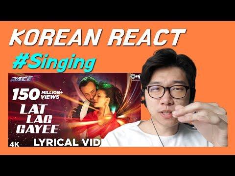 KOREAN REACT ON Lat Lag Gayee Lyrical   Race 2 Saif Ali Khan, Jacqueline Fernandez Benny Dayal, Shal