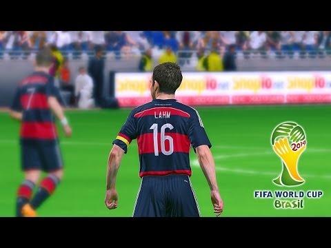 PES 2014 - Brazil 2014 Simulation - Ghana vs. Germany