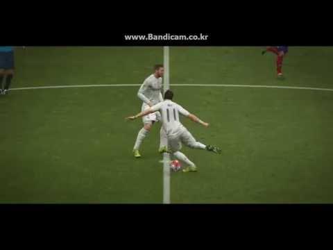 FIFA16 마드리드더비 전반전(The Madrid Derby) Real Madrid VS Atletico Madrid in Bernabeu  1st Half