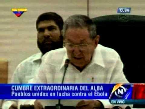 Raúl Castro inaugura la Cumbre Extraordinaria de la Alba 20 10 2014