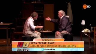 Rodolfo Ranni y Mario Pasik, dos grandes en Córdoba - Noticiero Doce