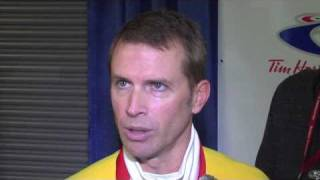 2011 Tim Hortons Brier - Final Media Scrum