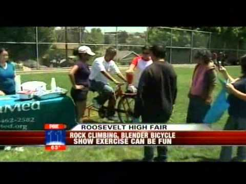 Roosevelt High School Kids Tackle Obesity on the Field