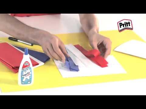 Banderita Chilena - Recicla, Crea y Juega con Pritt - YouTube