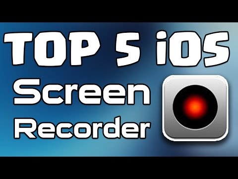 Top 5 Best FREE iOS Screen Recorder for iPhone   iPad