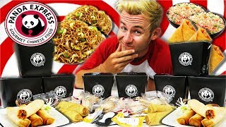 THE SUPERCHARGED PANDA EXPRESS MENU CHALLENGE! (10,000+ CALORIES)