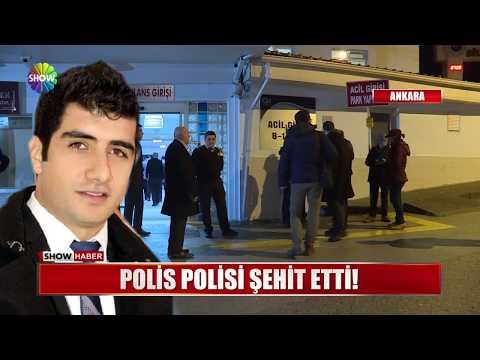 Polis polisi şehit etti!