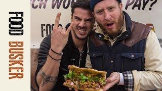 Japanese Steak Sandwich | Food Busker & Akis Petretzikis
