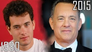 Tom Hanks (1980-2015) all movies list from 1980! How much has changed? Before and Now!