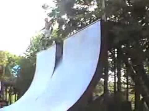 Skatepark of Houston 1988 Summer visit Orange Grove Shut Up and Skate Texas