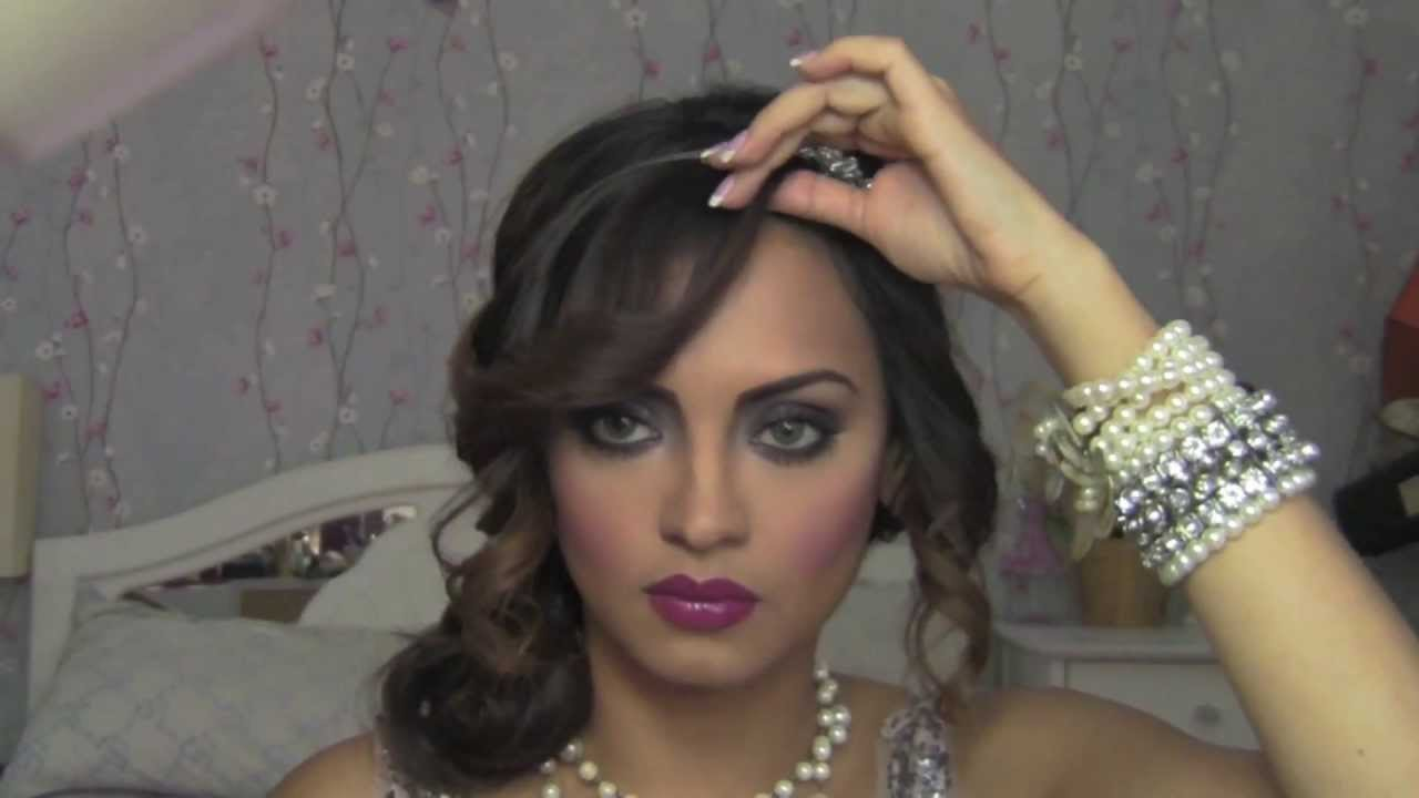 The Great Gatsby Inspired 1920 S Flapper Girl Hair Part 2