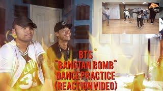 BTS - BANGTAN BOMB (Baepsae/Silver Spoon) - DANCE PRACTICE - (REACTION VIDEO)