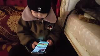 Ayan Hameed Sakhakot | Baby Watching Youtube | Kid enjoying Youtube