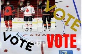 VOTE ON A JERSEY! WORLD JUNIOR NHL 17 CUSTOM TEAM