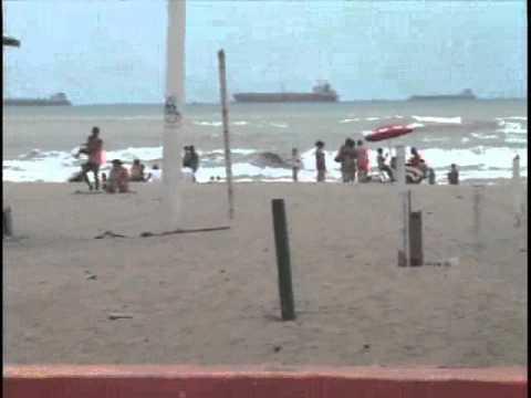 Turistas de Esmeraldas disfrutaron del feriado a pesar de alerta