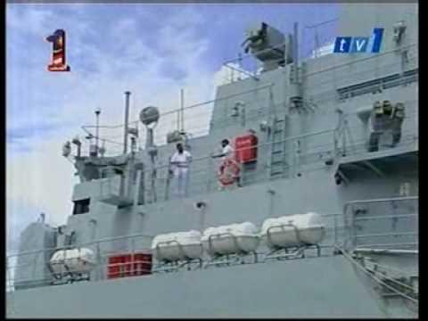 PNS Zulfiquar Berth at Port Kelang Malaysia-TV1 Berita Nasional 8 Malam 2