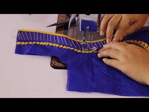 Trendy Fashion Blouse For Silk Saree 2018