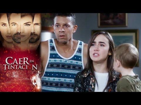 ¿Sera? Santiago el asesino de Carolina? | Caer en tentacio?n | Televisa