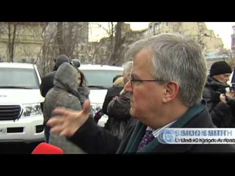 UK Vehicles for OSCE: UK Ambassador donates armoured vehicles to Ukraine monitoring mission
