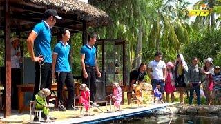 Khỉ Bơi Đua Độc Nhất Vô Nhị Tại Đảo Khỉ Nha Trang