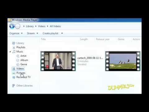 How to Use Windows Media Player 12's Libraries For Dummies