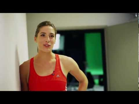 adidas miCoach Videogame Behind the Scenes - Andrea Petkovic Extended