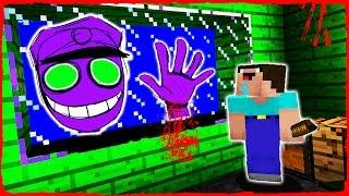 Minecraft FNAF - NOOB vs PURPLE GUY (Animatronic Trolling)