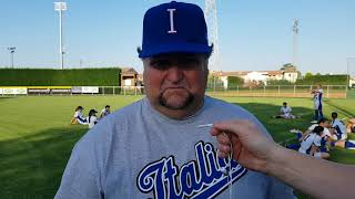 Enrico Obletter analizza i test match tra Italia Softball e USSSA Pride