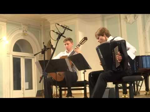 Альберти, Доменико - Соната V op.1 ля мажор для клавесина