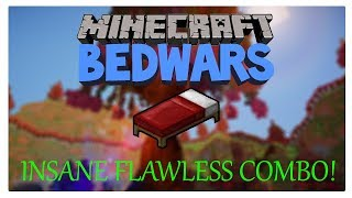 INSANE FLAWLESS COMBO!?!? (Bedwars)