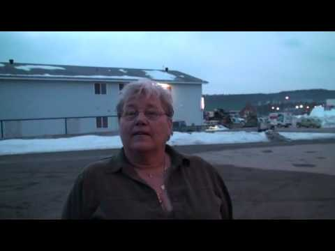 Signpost Forest Winter-Mayor Nancy Moore Interview-Alaska Highway Tourism